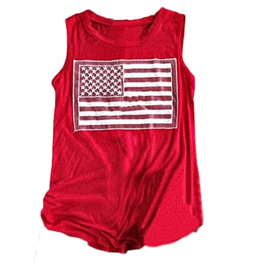 ARINLA 2018 Flag World Cup Womens Print Tank Crop Tops Vest Blouse T-Shirt  at Amazon Women s Clothing store