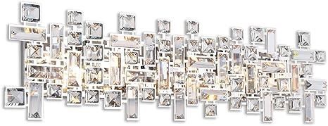 Paradigm 8 Light Bathroom Vanity Lights In Polished Chrome Amazon Com