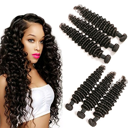 Brazilian Hair Deep Weave With Ear To Ear Lace Frontal