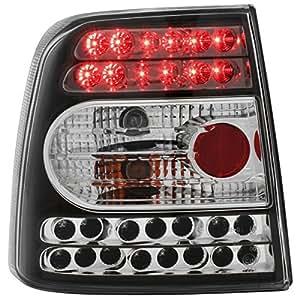 Dectane RV11LLB - Faros traseros LED para VW Passat 3B Sedán, color negro