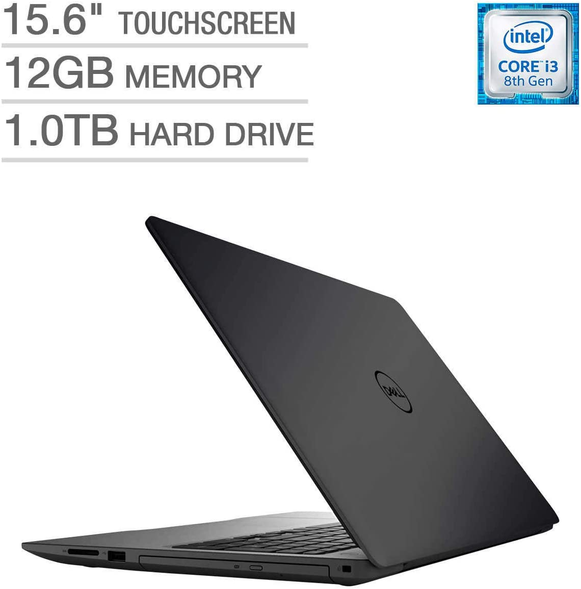 Dell Inspiron 15 5000 Series Touchscreen Laptop - Intel Core i3-8130U Processor 2.2GHz 12GB DDR4 1TB