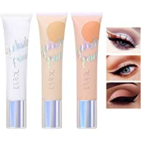 Eakroo 3 Packs Eye Shadow Primer Base, Liquid Eyeshadow Primer Matte Eyeshadow Primer Base,Waterproof Long Lasting…