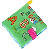 Baby Books,Clode® New Soft Cloth Baby Intelligence Development Learn Picture Cognize Book (Green)