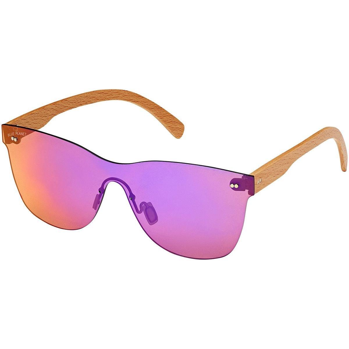 3bf21553cd3 Blue Planet Eyewear Delmar Sunglasses - Women s Single Lens Beechwood Blue  Mirror