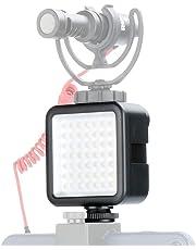 Lámpara de video Ulanzi Ultra Bright LED - LED 49 Lámpara de video regulable Ultra Bright Portable High Power Panel, luz LED para cámaras Canon, Nikon, Pentax, Panasonic, SONY, Samsung y Olympus Digit