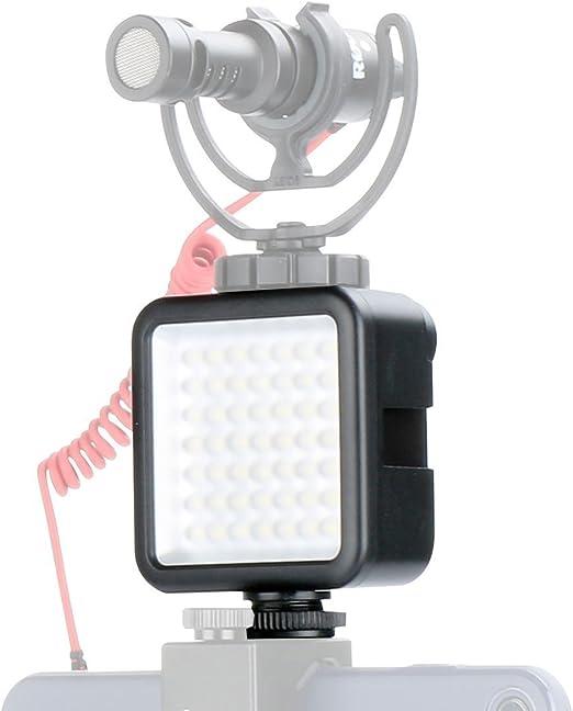 Ulanzi Ultra Bright Led Videoleuchte Led 49 Dimmbar Kamera