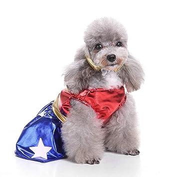 ELLANM Ropa para Perros de compañía Ropa de Navidad Ropa de ...