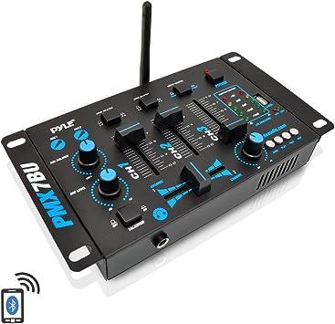 Amazon.com: Wireless DJ Audio Mixer - 3 Channel Bluetooth ...