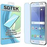 SDTEK Samsung Galaxy J5 (2015) (J500FN) Protector de Pantalla Cristal Vidrio Templado Glass Screen Protector