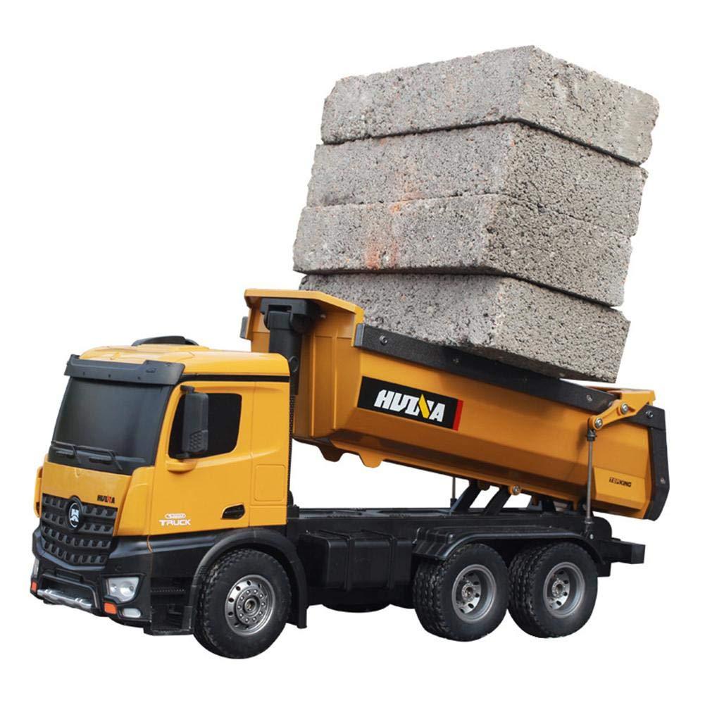 6G 2.4 GHz radio contr/ôl/ée camion /à benne-Perfect construction car pour les enfants 45 14 19CM 7.2 V 400mAh batterie surdimensionn/ée 5KG charge-roulement