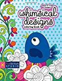 img - for Whimsical Designs Coloring Book: Teaches You: Color Wheel, Design Practices - Appliqu , Creative Play by Piece O' Cake Designs (2013) Paperback book / textbook / text book