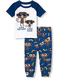 b592e4b2d6 The Children s Place Big Boys  Novelty Printed Shorts Pajama Set
