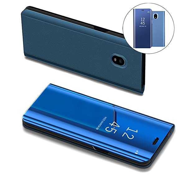 save off 6292a 07150 Samsung J7 Pro 2017 Case, COTDINFORCA Mirror Design Clear View Flip  Bookstyle Luxury Protecter Shell With Kickstand Case Cover for Samsung  Galaxy J7 ...