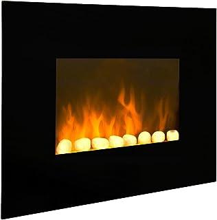 CheminArte 039 - Chimenea eléctrica, color negro