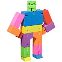 Areaware Cubebot Puzzle, Multi, Small