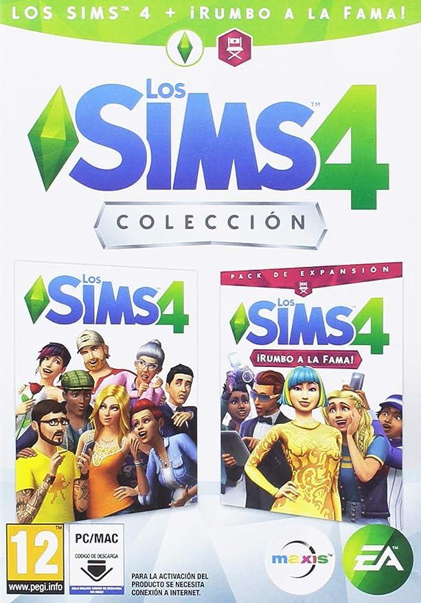 Los Sims 4 + Rumbo a la fama Colección (CIAB): Amazon.es: Videojuegos