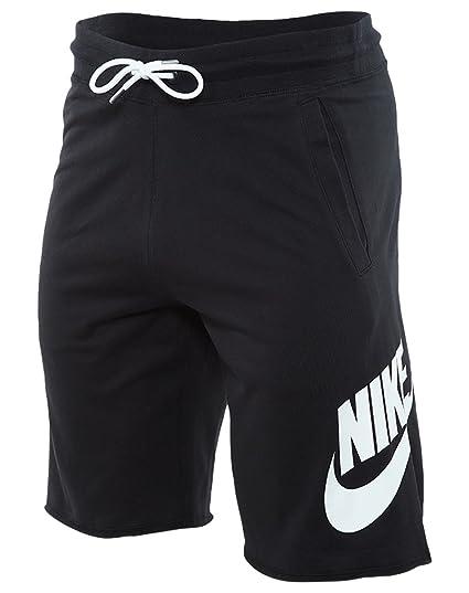 Nike Mens Sportswear Logo Shorts Black/White 836277-010 Size Small