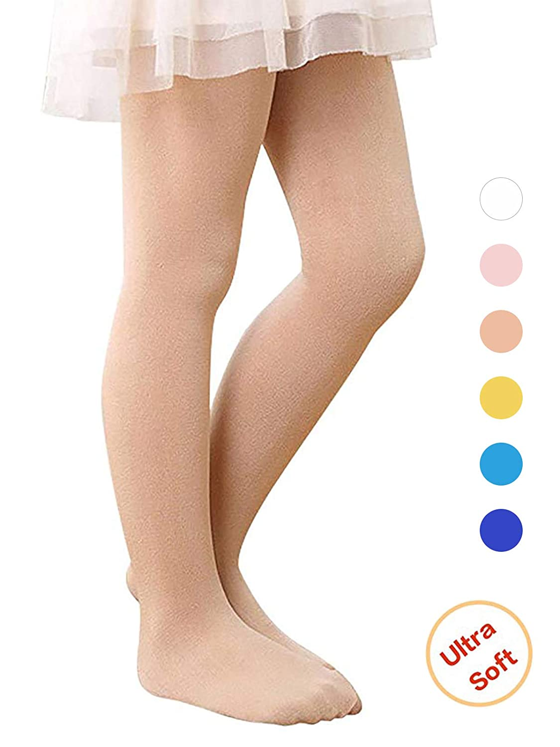 Century Star Ultra-Soft Footed Dance Sockings Ballet Tights Kids Super Elasticity School Uniform Tights For Girls YZCUAS1399P0000SN