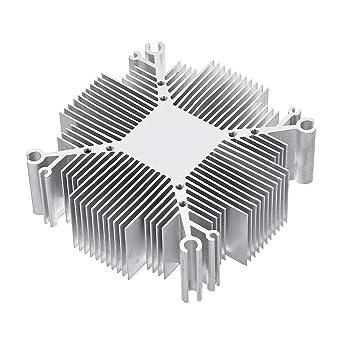 HTAIYN Enfriamiento de aluminio del radiador del disipador de calor de 20W-100W DIY para