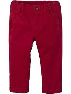 91def570d457 Vertbaudet Pantalon bébé garçon Coupe Chino en Jean doublé et ...