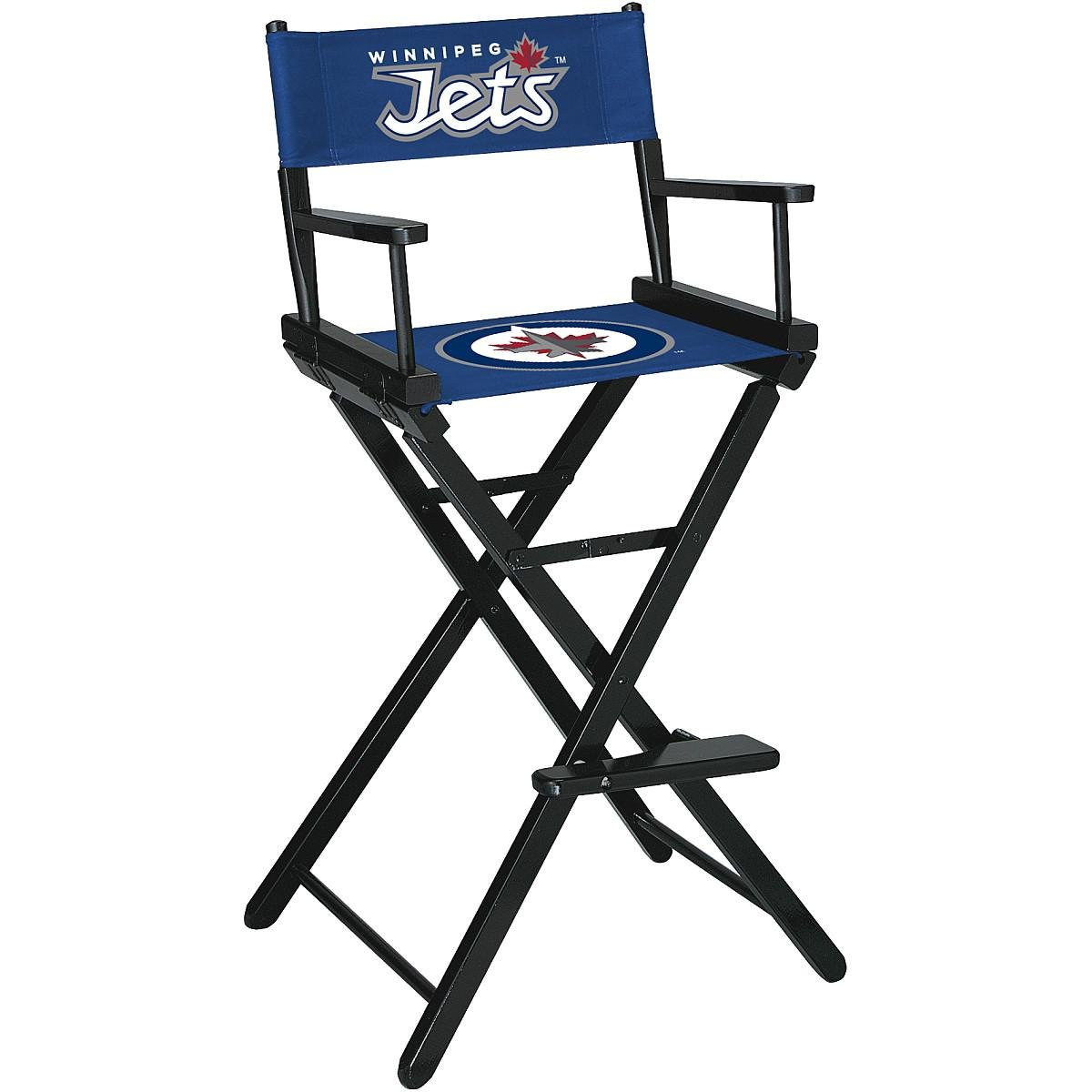 Imperial International Winnipeg Jets Directors Chair-BAR Height