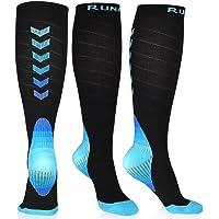 RUNACC Calcetines de compresión, Calcetines/Medias de Compresión para Hombres y Mujeres, Running, Deporte, Correr…