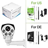 Luowice 1080P WiFi Security Camera Outdoor 2MP with