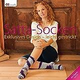 Satta-Socken: Exklusives Design - leicht gestrickt. Mit Charts auf CD