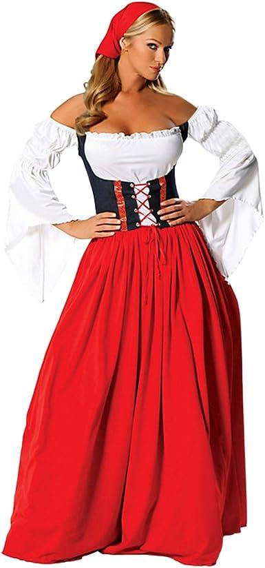 Que Sera quesera de las mujeres Oktoberfest disfraz renacimiento ...