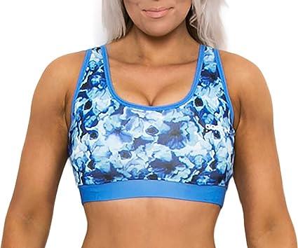 Ladies Fitness Charcoal CoreX Inspire Bra Top