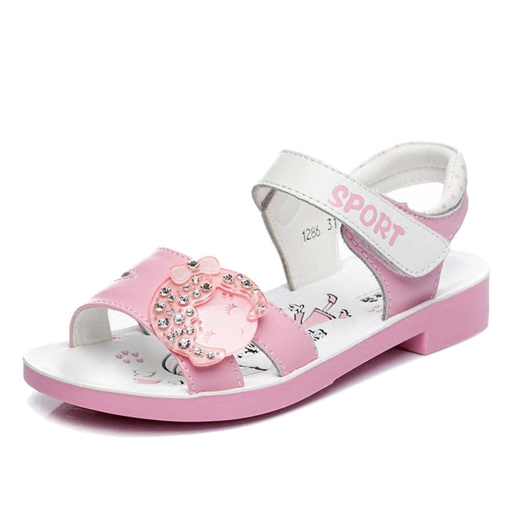 Tauen Cute Beaded Summer Toddler Little Kids Girls Walking Sandals