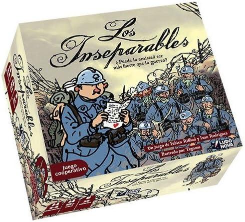 Ludonova - Los Inseparables, Juego de Mesa (LDNV80001): Amazon.es ...