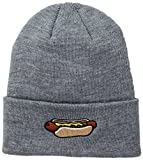 Coal Men's The Crave Fine Knit Cuffed Beanie Hat, Heather Grey, One Size