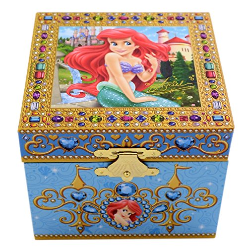 Disney Parks Exclusive Ariel Little Mermaid Musical Jewelry Box