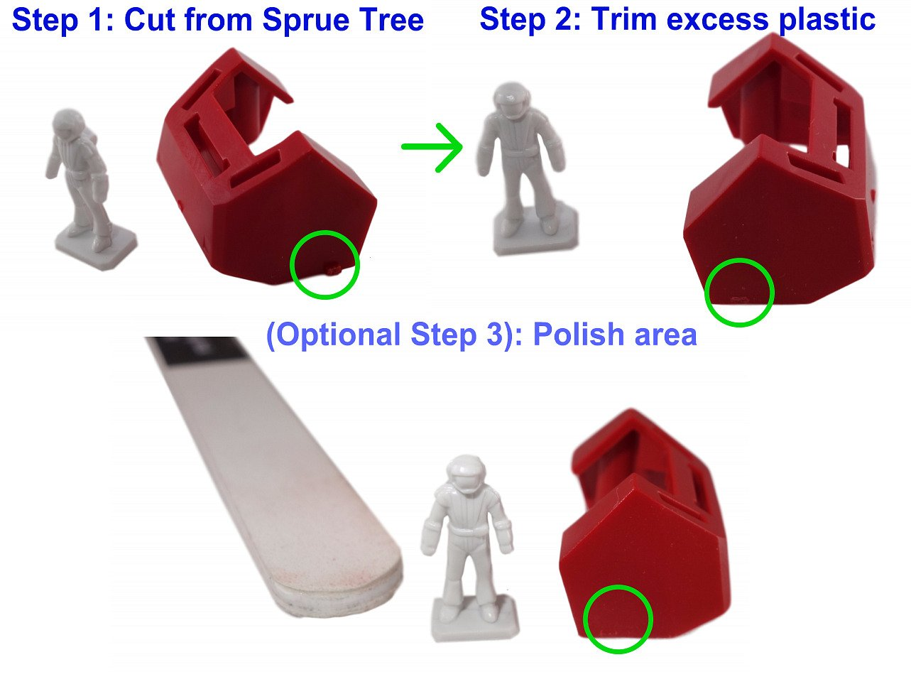 Valtcan Prime Sprue Cutter for Model Kits Thick Plastic Nipper