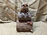 Shiitake Snowman Mushroom Log DIY Shiitake Mushrooms Ready to Grow Your Own