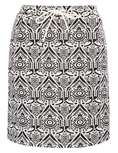 JACK SMITH Women's Stretchy Knee Length Skirt Athletic Skort Drawstring Waist with Pockets