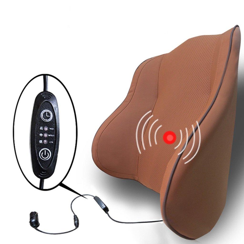 背中マッサージクッション腰部サポート、換気用メモリコットン腰痛、レスト、運転席用、メインカーシートに最適 (色 : コーヒーカラー こ゜ひ゜から゜, サイズ さいず : Massage) B07HJ7DY42 Massage コーヒーカラー こ゜ひ゜から゜ コーヒーカラー こ゜ひ゜から゜ Massage
