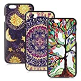 iPhone 6/6s Case, FiveBox Vintage Flowers Watercolor Artn/Love Tree/Vintage Tribal Tribe Pattern Back PC Hard Case [Scratch Resistant] Protective Skin Cover Ultra Slim Case for iPhone 6,6s (4.7 inch)