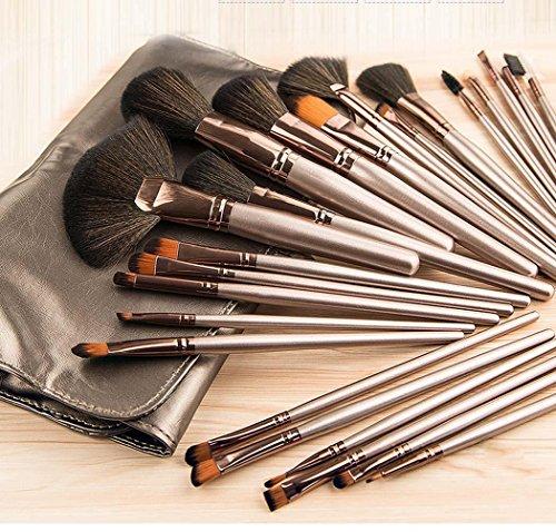 Missing Deer 24 Makeup Pinsel Set Anfänger 'Makeup Tool Full Set von Blush Red Eye Shadow Brush Foundation Pinsel Kreative Geschenkideen