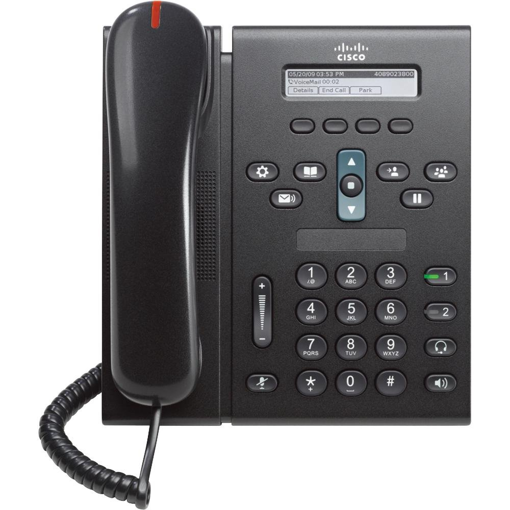 Cisco CP-6921-C-K9-RF Unified IP Phone - Charcoal CISCO SYSTEMS - ENTERPRISE