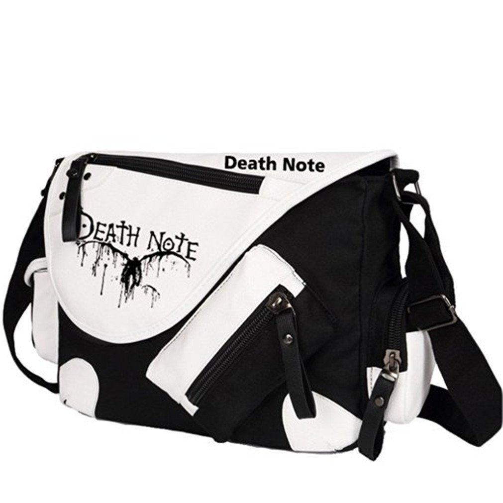 Bromeo , Borsa Messenger  nero Death Note taglia unica