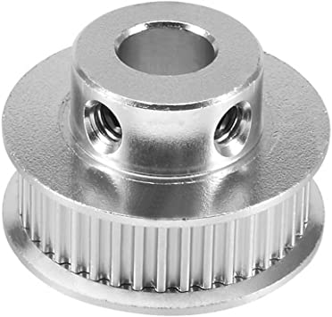SODIAL aluminio GT2 36 dientes 8mm agujero cronometrando cinturon ...