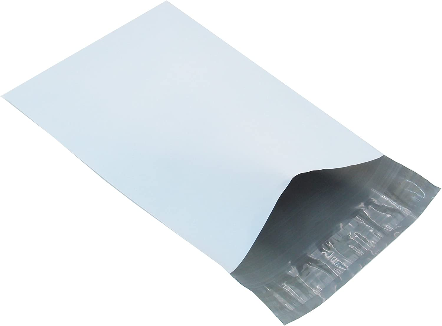 """50 STRONG Post Mailing BAGS Self Seal Poly Plastic Packet Postage Grey 12/"""" x 16/"""""""
