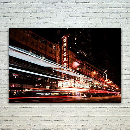 Westlake Photography - Poster Print Wall - Chicago's Essex - Modern Picture Photography Home Decor Office Birthday Gift - Unframed - 18x12in (od9 - Hotel Downtown Inn