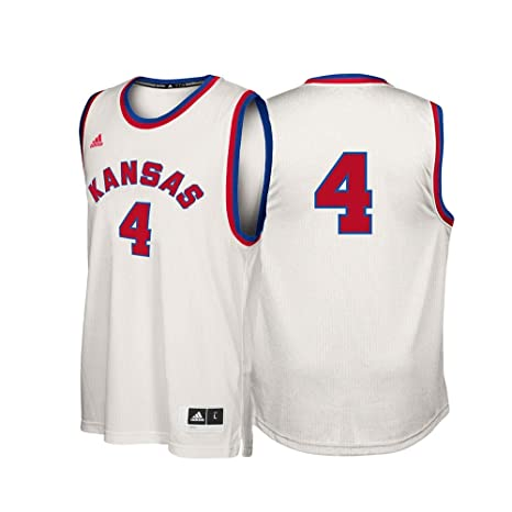 the best attitude ec7da 17747 Amazon.com : adidas Kansas Jayhawks NCAA 4 Hardwood Classics ...