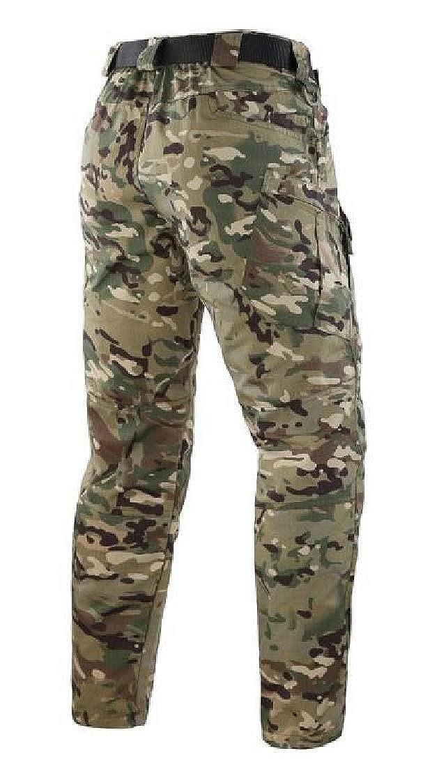 Generic Mens Outdoor Army Waterproof Tactical Combat Pantalones Cargo Pants