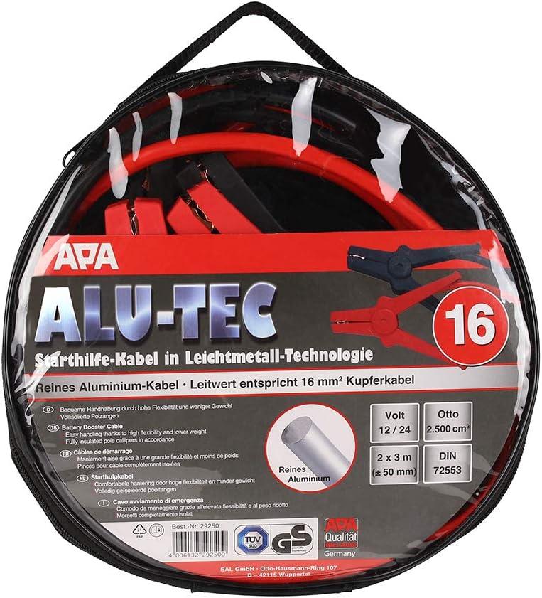 APA 29250 Starthilfekabel Alu-Tec