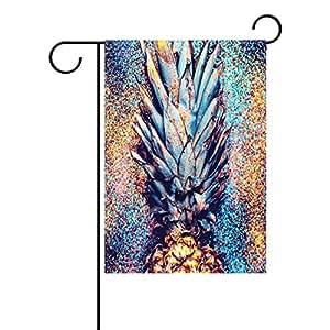 wozo piña Shine Fashion jardín bandera minimalismo estilo poliéster bandera al aire libre casa fiesta
