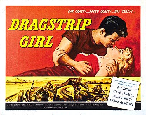 "Dragstrip Girl Movie Poster Replica 11 X 14"" Photo Print"